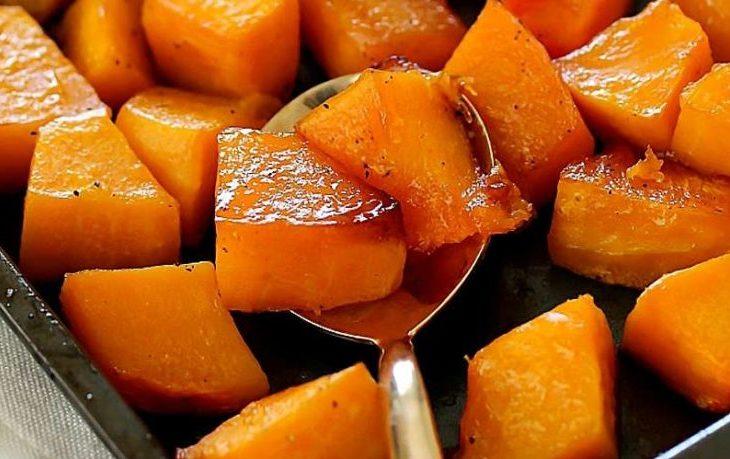 Рецепты запеченной тыквы с медом, корицей, сахаром