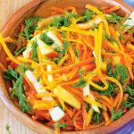 Быстрые и вкусные рецепты салатов из тыквы