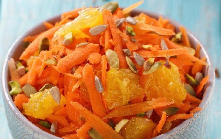 тыква с морковью рецепт