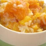 Как приготовить рис с тыквой в духовке, с молоком, изюмом