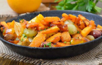 тыква тушеная с овощами рецепт