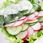 Рецепты салатов с редиской и огурцами, помидорами, капустой